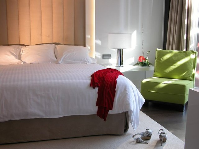Double room with bed of marriage hotel beatriz albacete & spa