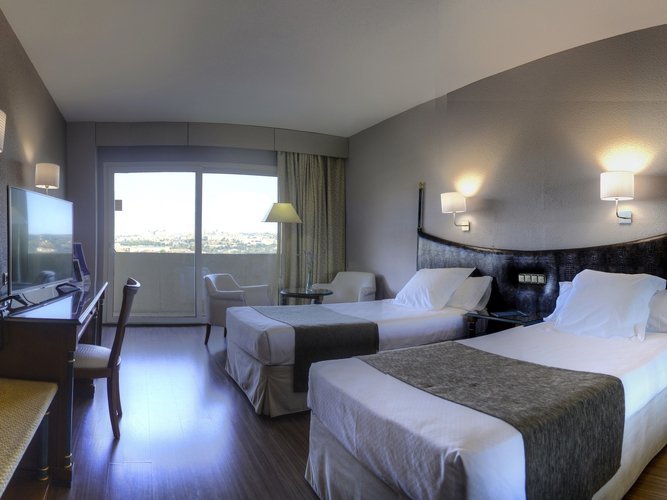 2 bedded double room - views of toledo hotel beatriz toledo auditórium & spa