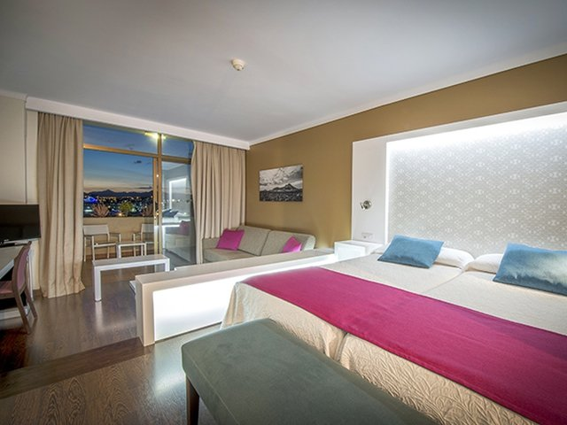 Superior sea view double room hotel beatriz playa & spa lanzarote