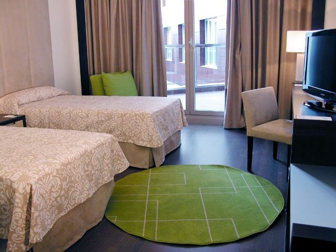 Double room with two beds hotel beatriz albacete & spa