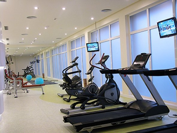 Fitness center hotel beatriz albacete & spa