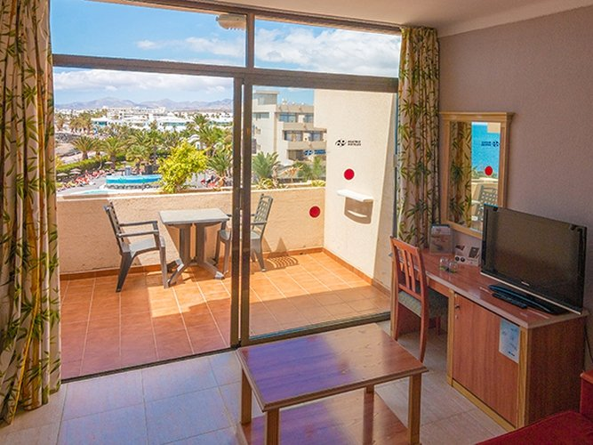 Standard double room hotel beatriz playa & spa lanzarote